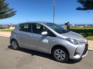 Yaris 4 door automatic hatchback